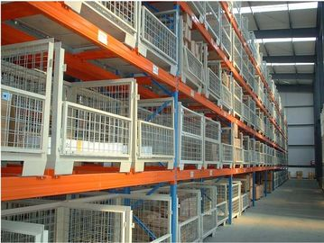 Durable  Metal heavy duty selective pallet rack with Multi - Level shelves